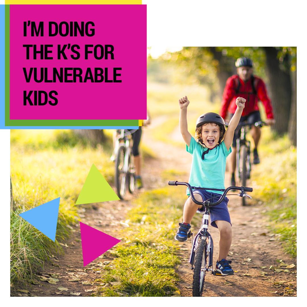 Social Tile - I'm Doing the K's for Kids - IMAGE