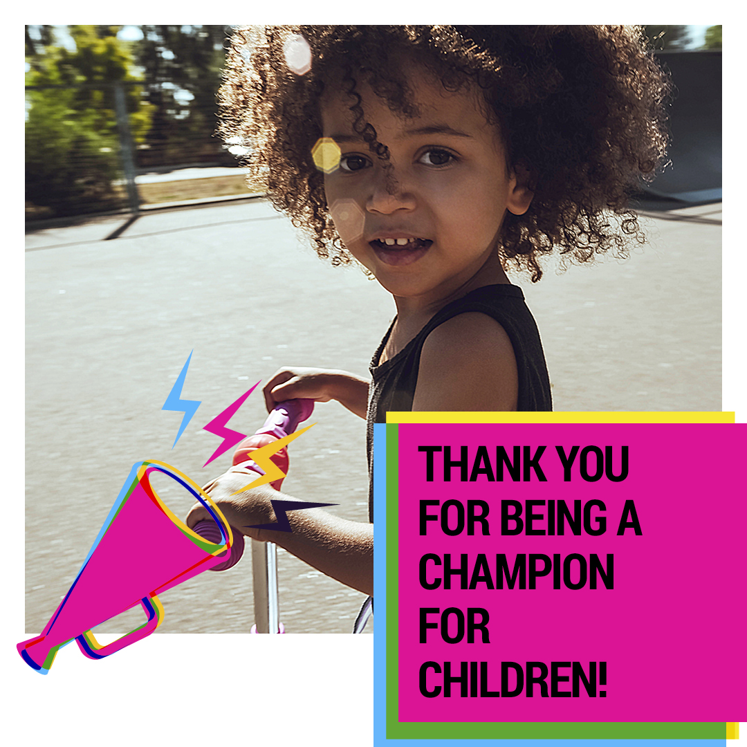 Social Tile - Thank You for Being a Champion - IMAGE